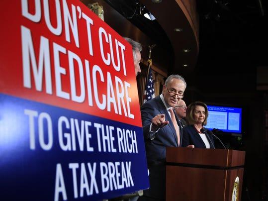 Chuck Schumer,Nancy Pelosi,Bernie Sanders