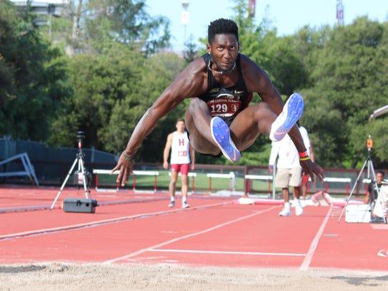 Florida State senior long jumper Keniel Grant has provided