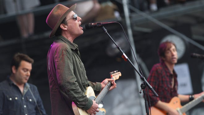 The Wallflowers perform at Firefly Music Festival in 2012. The Jakob Dylan-led band will play Freeman Stage at Bayside on July 12.