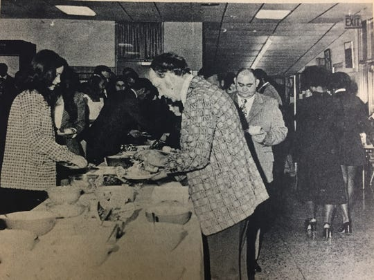 In December 1973, the Annual Future Homemakers Father-Daughter Banquet was held at the Union County High School.