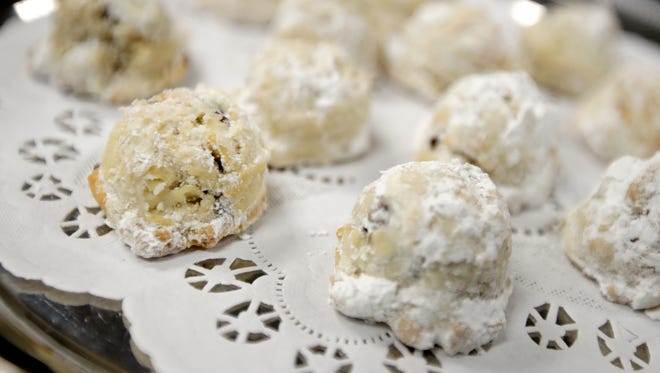 J. Loraine Barbeaux, Sheboygan, took third place in the USA TODAY NETWORK-Wisconsin Holiday Cookie Recipe Contest with a recipe for Maple Pecan Tea Cakes.
