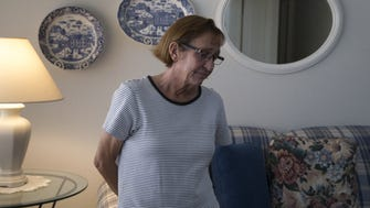 A portrait of Sue Hartin, June 13, 2018, in the Peoria home of her mom, Norma Hartin.