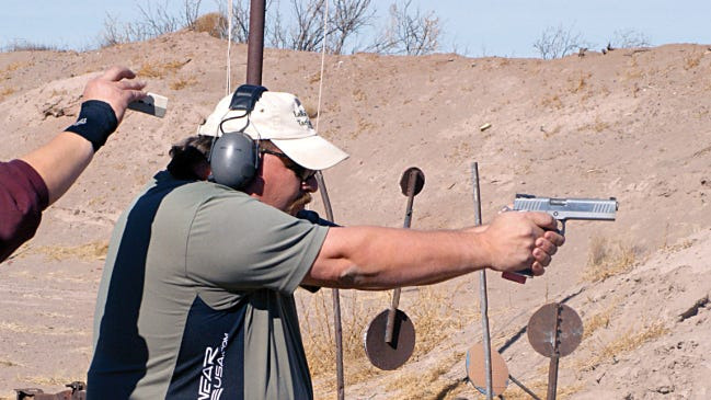 Competitive shooting sports enthusiasts continue to seek a public venue in Luna County for a shooting range.