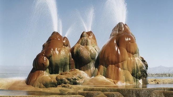 Black Rock's Fly Geyser