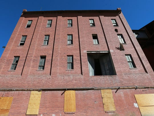 The old Globe Mills structure will soon be demolished.