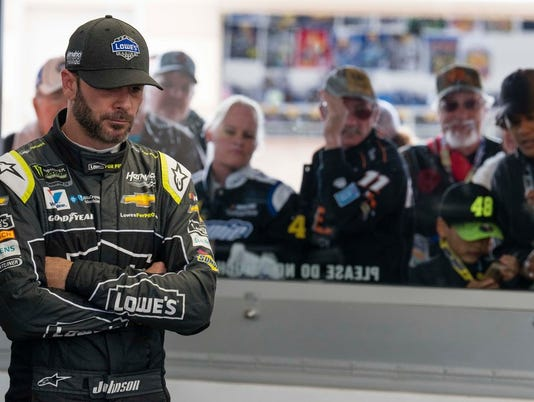 Jimmie Johnson at Las Vegas