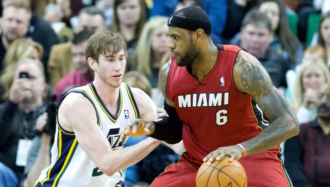 Gordon Hayward called out NBA MVP LeBron James on Tuesday.