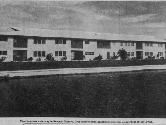 The first condominium complex built in the Cape was