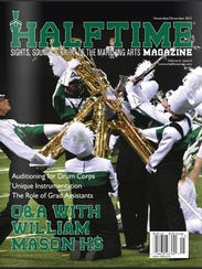 Mason's marching band program has been featured on