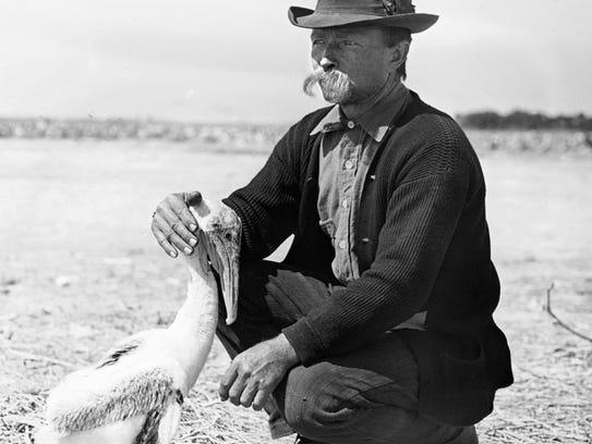 Paul Kroegel was the first warden of Pelican Island.