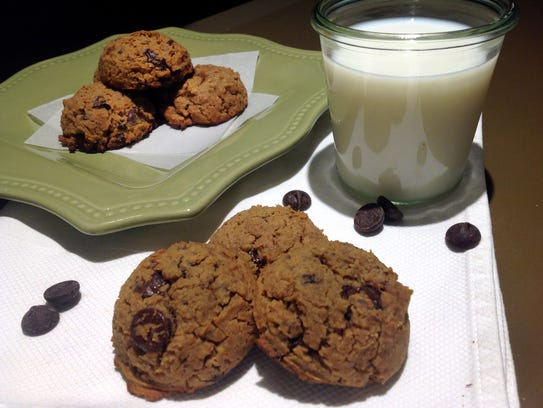 Chocolate chip cookies made with chickpeas really do