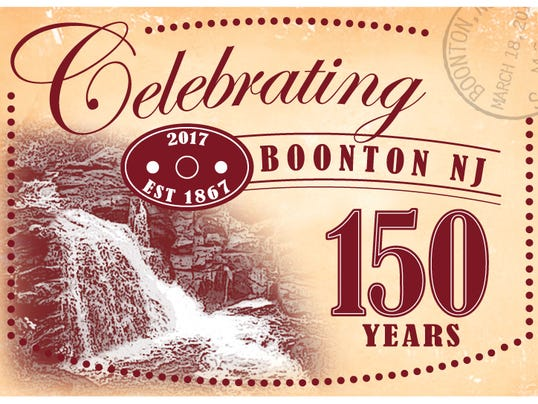 Postcard for Boonton's 150th