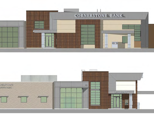 New Cornerstone bank branch