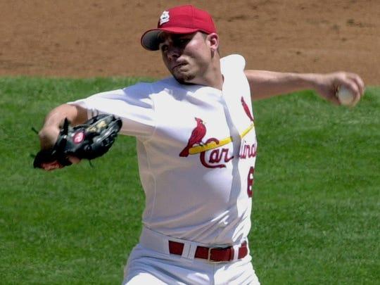 St. Louis Cardinals starting pitcher Rick Ankiel.