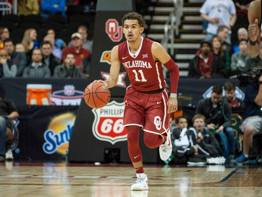 Trae Young, guard, Oklahoma.