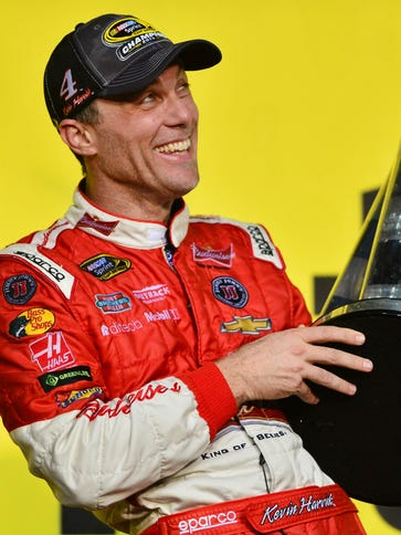 Kevin Harvick has leaned on fellow NASCAR driver Jimmie