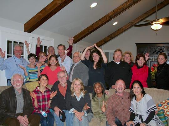 Group with Lauren.