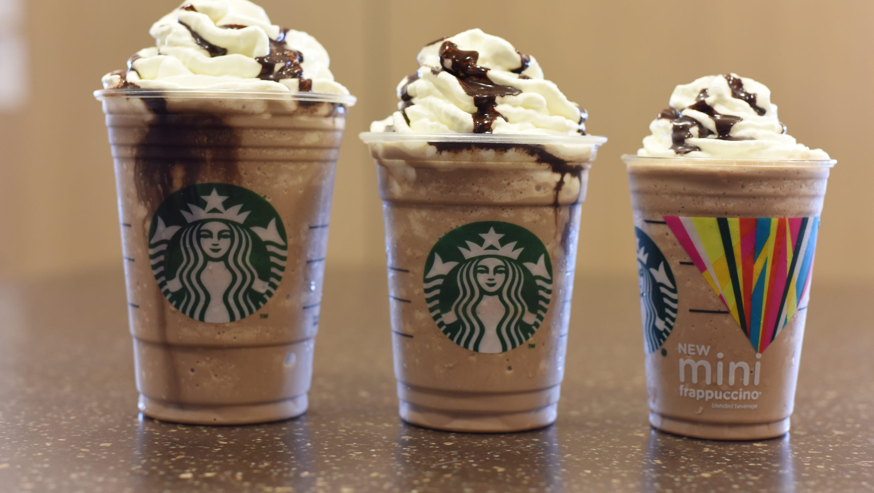 Tall City Delivery >> Starbucks rolls out 'Mini Frappuccino'