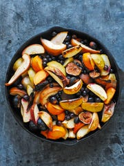 Roasted Autumn Fruit can be customized to use locally grown fruits.