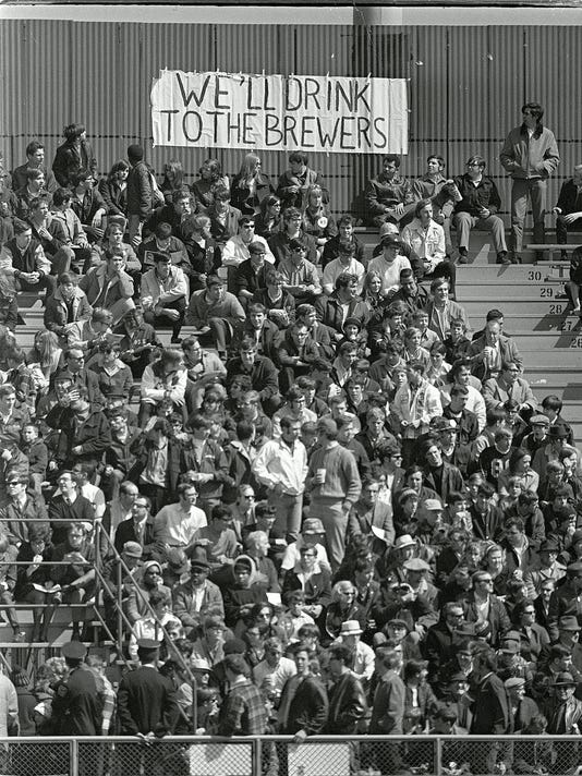 1970 Milwaukee Brewers Opening Day