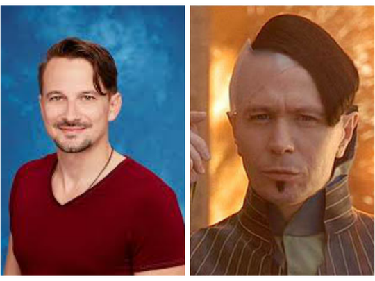 """Evan from """"The Bachelorette"""" and Gary Oldman in """"The Fifth Element."""""""