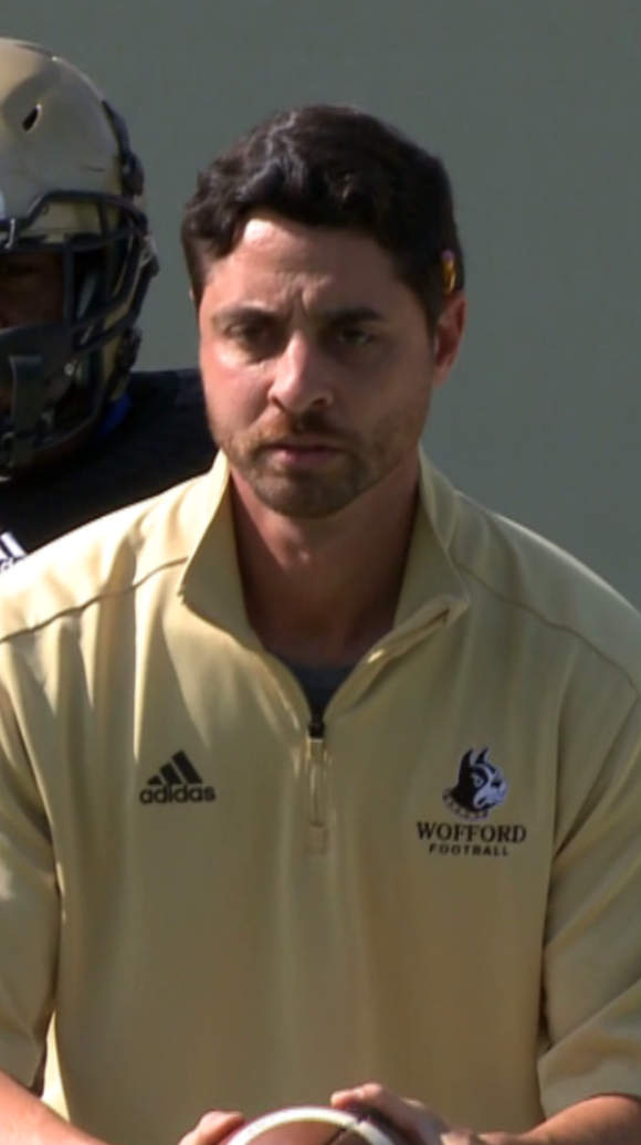 Jon Wheeler, a former player and coach at Wofford College,