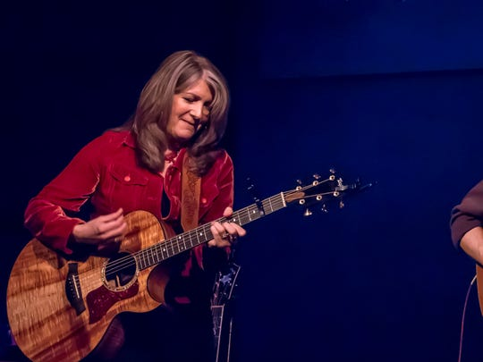 Kathy Mattea is performing with her longtime guitarist Bill Cooley for what she calls the Acoustic LIving Room tour.