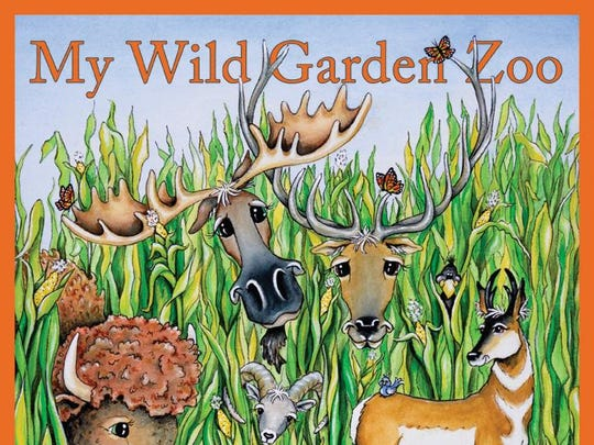 """""""My Wild Garden Zoo"""" by Therese Hutchinson"""