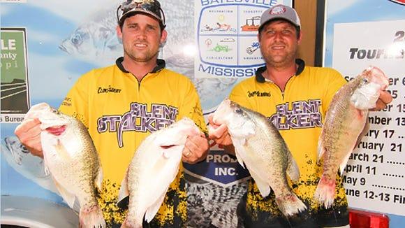 Jeremy Aldridge and Clint Egbert are MCC's 2015 Anglers