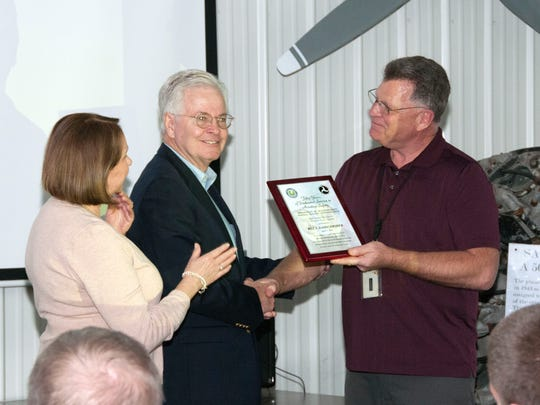 Rex Damschroder was presented the Wright Brothers Award,
