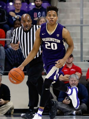 Washington guard Markelle Fultz is projected as the first or second pick in this year's NBA draft.