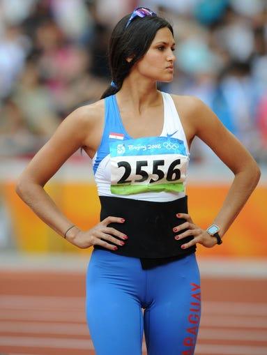 Leryn Franco, Paraguay, saltadora de jabalina.