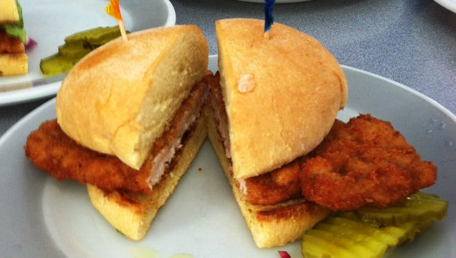 The breaded pork tenderloin at the Belmond Drive-in was named the best in Iowa by the Iowa Pork Producers Association.