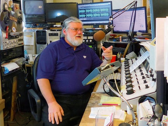 Local radio personality Harvey Twite, host of the KEDU