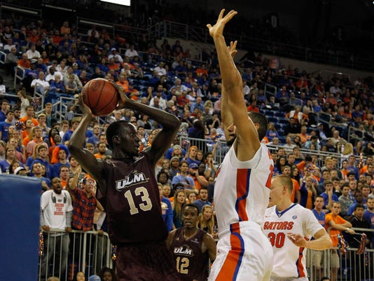 NCAA Basketball: Louisiana-Monroe at Florida