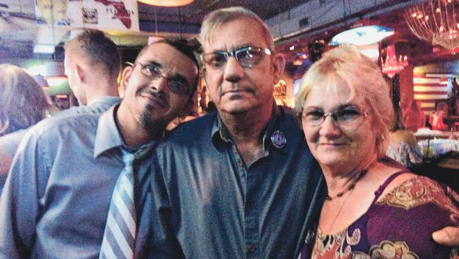 Paul, Ed and Linda Prince attended the Fire & Ice Fireman Bachelor's Auction fundraiser in Cape Coral at Dixie Roadhouse. It was held to help their family with medical costs as Ed battles cancer.