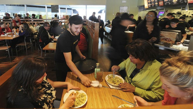 Noodles & Company at Tempe Marketplace offers a mix of Asian, Mediterranean and American noodles and pastas.