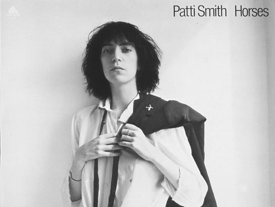 Horses Patti Smith Patti Smith on ...