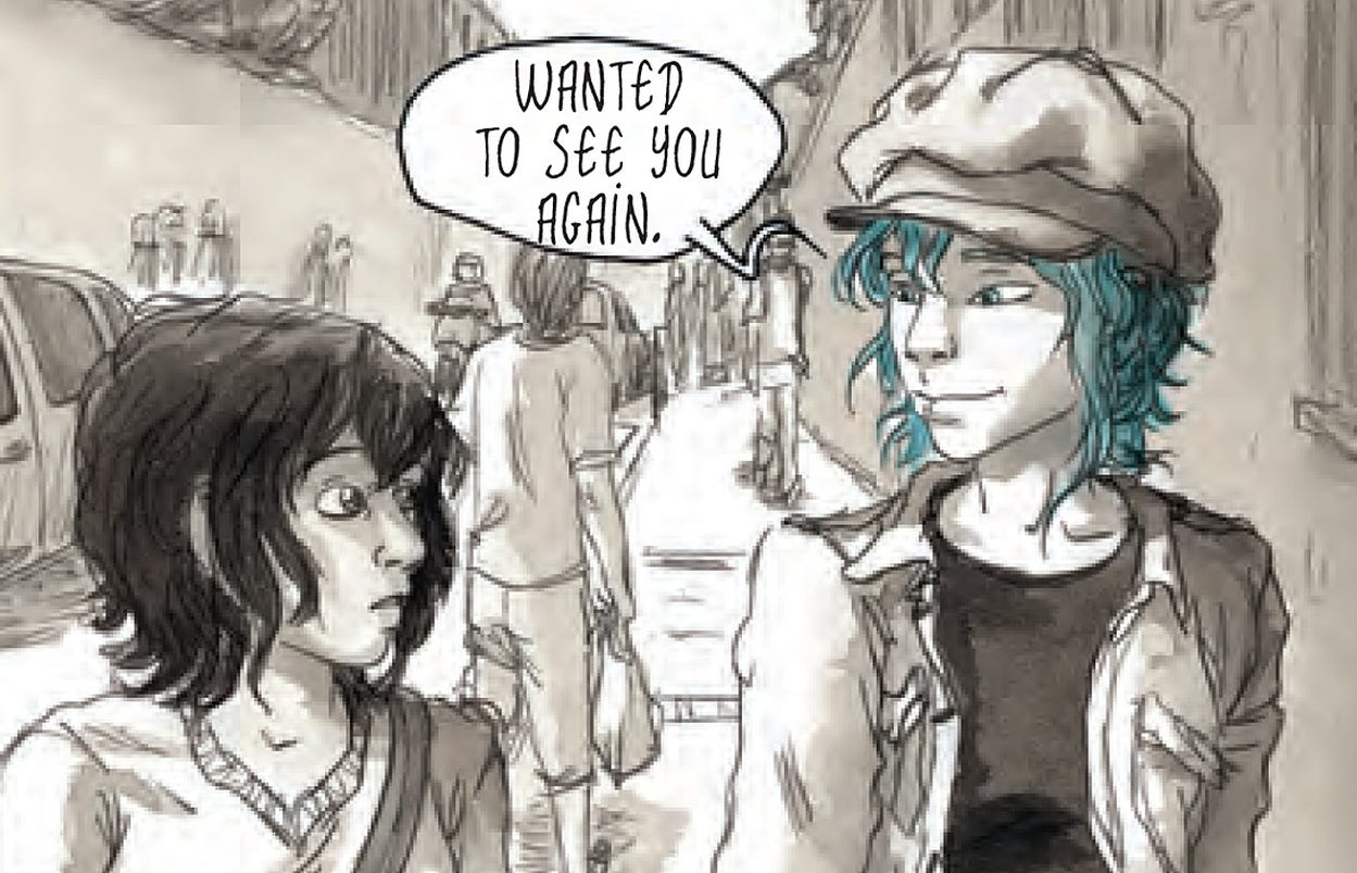 graphic novel a loving shade of blue for julie maroh - Blue Is The Warmest Color Book