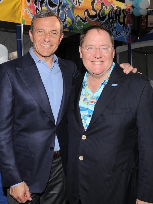 Robert Iger, John Lasseter