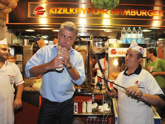 Anthony Bourdain could eat at any restaurant in the