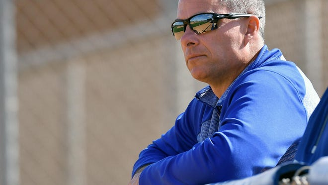 General manager Dayton Moore and the Royals will pick fourth in the upcoming MLB Draft.