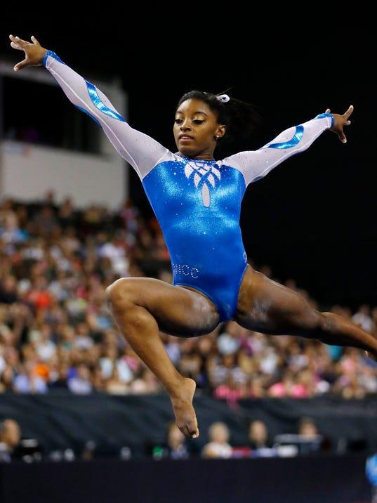 Simone Biles Keeps Pushing Gymnastics Forward With Secret