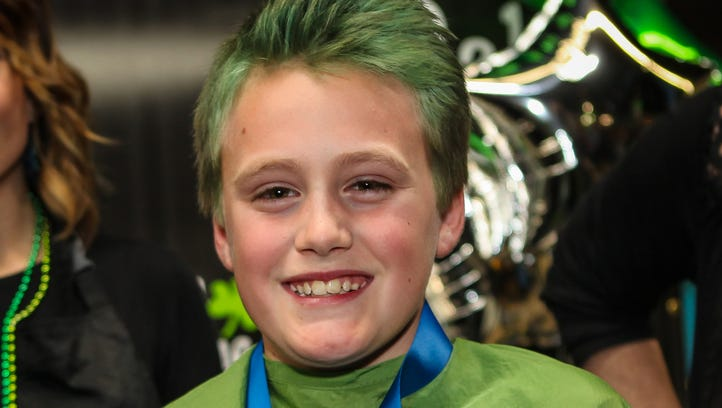 Scenes from Riverdale's Brave the Shave, St. Baldrick's Bald in the Boro fundraisers