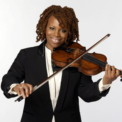 Regina Carter will perform June 13 in Wiggins Park,