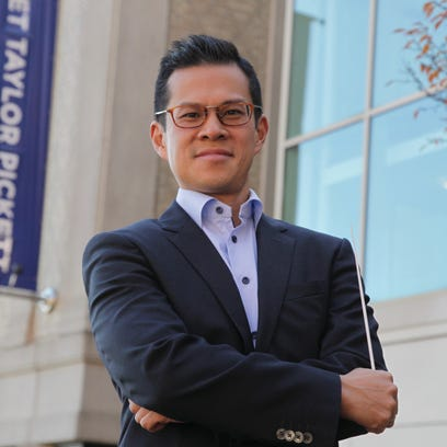David Chan, conductor of the new Montclair Orchestra