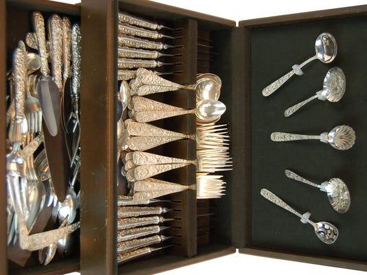 19th Century Sterling Silver Flatware