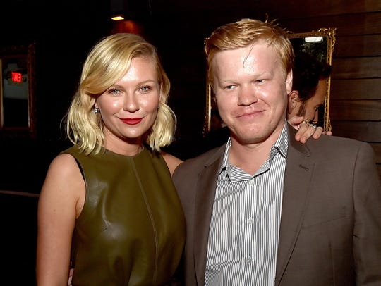 Engaged couple Kirsten Dunst and Jesse Plemons started