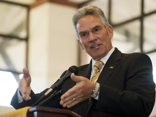 Ex-Missouri athletic director MIke Alden has been examining the UL athletic department.