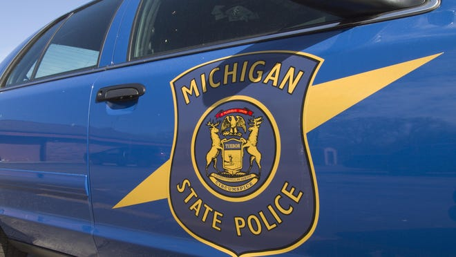 Michigan State Police discovered a mobile meth lab in Leslie Sunday afternoon and arrested two men believed to be involved in its operation.